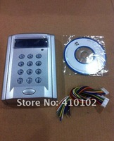LCD Display Network Entry Door Access Control System with keypad 2500 card holders employee attendence+Free shiping