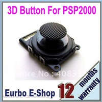 Free Shipping 3D Analog Joystick Contact Rubber Set 3D Button For PSP 2000 (ESP004)
