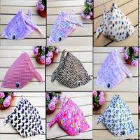 15pc Baby 100% cotton bib baby bib bibs rice pocket child scarf bandanas free shipping