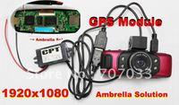 Original Ambrella GS5000 Full HD 1080P Car DVR Video Recorder Video Camera Built In GPS/G-Sensor+1.5inch+H.264 Video Recorder