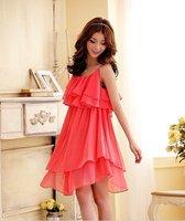 Top Selling New Casual Dresses Cocktail Dress Bud silk princess skirt bridesmaid dress