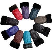 2012 Winter New Women Sheep Leather Gloves LGPU014