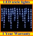 Holiday Led Lighting,Christmas Led Lighting,100pcs Leds,Width 3M,icicle lights for Holiday Christmas wedding party garden lamps