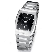 Watch tungsten steel male watch waterproof quartz watch men's fashion wristwatch 6015G