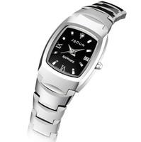 High Quality JSDUN Pure Tungsten Steel Watch Fashion Women Dress Watches New Arrival Wristwatch 8608G