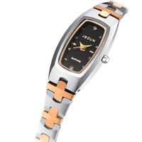 Watch tungsten steel women's watch fashion bracelet watch waterproof fashion wristwatch women's quartz watch