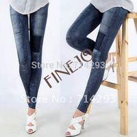 Women's Fashion leggings Stretch Skinny Leggings Leg wear Pencil Pants Casual Jeans 7161