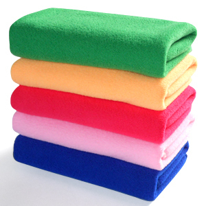 Soft Bath Towel Microfiber Babric Natural Solid Color 60cm*120cm 8colors 10Pcs/lot