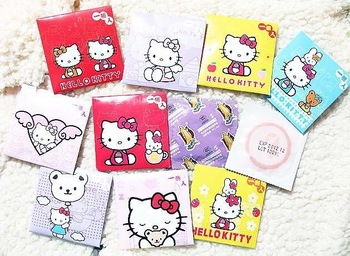 20pcs/lot sex male liquid lubricant latex flavored hello kitty condom products the lover gifts