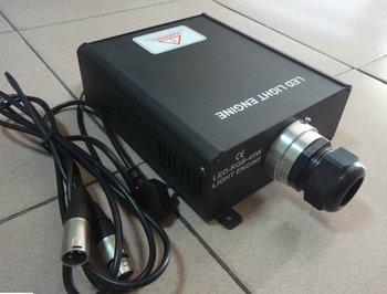 45W LED dmx optical fiber engine,AC85-260V input;dmx512 compatible