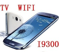 Hot  sale new cheap cell phone i9300 Dual SIM cards wifi TV Unlocked mobile phone free shipping