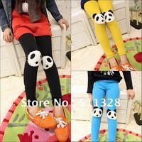 FREE SHIPPING  children  clothing girl leggings cotton  girl panda leggings