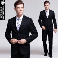 Slim men's business suits