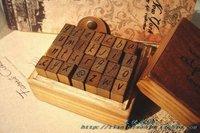 Classic vintage belt ridel stamp 28 letter big , 2