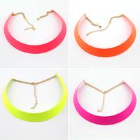 Fashion Vintage Fashion Punk Neon Female Short Design Necklace Collar RC138
