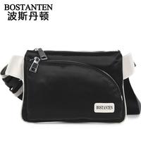 Fashionable casual waterproof nylon fabric male casual waist pack man bag b50011
