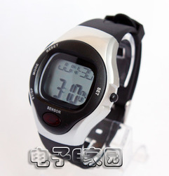 Waterproof heartbeat health sports measuring heart rate electronic multifunctional heartbeat watch(China (Mainland))