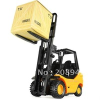 Desktop Crane Remote Control Cars Forklift engineering truck Free shipping Best selling