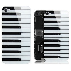 Case for iPhone 4S Piano Glass back cover housing+ Screwdriver(China (Mainland))