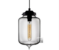 "Free shipping!Hot selling Niche Modern glass pendant ,Turret Modern Pendant Light(7""dia x 11.5""H"")"
