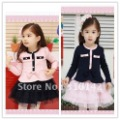 Free shipping 5pcs/lot New Arrival! AUTUMN winter baby dress, Girl dress, Baby  long sleeve toddler Dress  w-1385