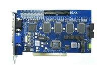 16 Chs GV Card GV800 V8.4 16 cs video cctv PC system  DVR card & 4 chs audio120fps(NTSC)100fps(PAL) security  video capture card