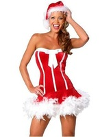 Free shipping Christmas costumes sexy costumes cosplay party costumes