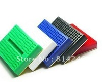 Free shipping  100pcs SYB-170 mini little color breadboard