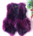 Fur vest 2013 real fur fox fur vest raccoon short jacket