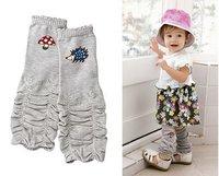 Free shipping (24pairs/lot) Christmas brand cotton ruffle baby leg warmers/little girl warm leggings/ruffle leggings girls boys