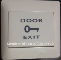 1 LOT can laser LOGO.Normally open  Exit Button Access control switch PUSH Button Door Bell Switch .