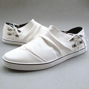 Shapi свободного покроя обувь мужчины обувь ленивый вилочная часть скейтбординг обувь