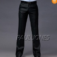 Men's Fashion Slim Fit Casual Stylish Suit Pants Classic Trousers 3Size XS S M  / free shipping