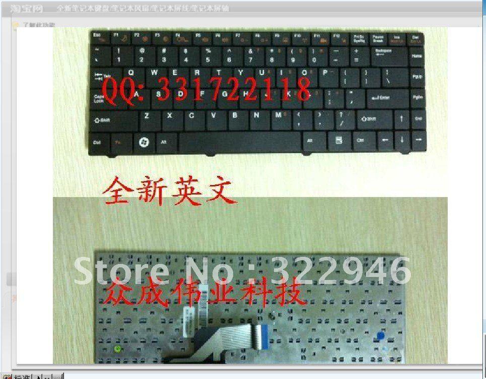 FREEshipping NEW ORIGINAL GENUINE laptop keyboard for Quanta C42 for HEDY V47 for Founder S330 for Gigabyte E1425A(China (Mainland))