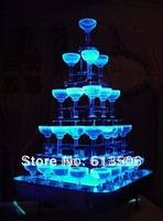 36pcs/lot  No Switch direct put in water LED Ice cake  Color changing Flash for Wedding Decoration party club bar Supplies