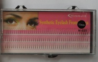 M025 MINGJIE Wholesale! Free shipping !10 boxes 8mm 10mm 12mm 3 stripes 2 roots  false eyelashes eyelash extension