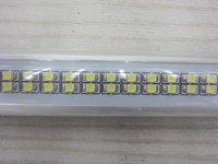[Seven Neon]Free DHL shipping high quality 50pcs AC85-265V 9W 800LM 60cm 144pcs 3528 led beads T8 led tube light