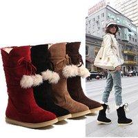 Winter snow boots non-slip thick