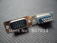 New 15 Pin D-Sub VGA DB15 HD Male Solder Cup Connector