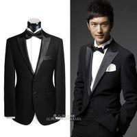 2014 new men's wedding suit groom