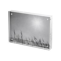 Injoy acrylic transparent frame crystal photo album brief photo frame magnet