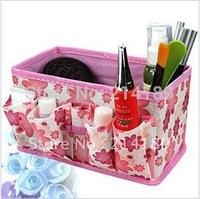 Foldable Cosmetics storage box,desktop storage box, Free shipping