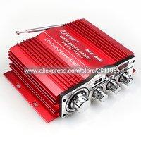 F980A KINTER MA-800 USB SD CD DVD FM MP3 MP4 Digital Player LED Display DC12V 25W+25W STEREO CAR AMPLIFIER