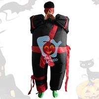 Inflatable Halloween costume for adult  fun costumes Japanese Samurai costume
