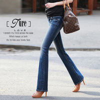 Ojean series middot . slim bell bottom jeans