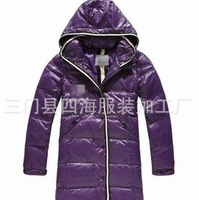 25%OFF Boutique female models Canada thickened duck down long section of the wind and warm down jacket female