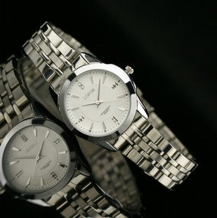 LORFO brand Korean pop Japan movement Business women watch Accurate travel time white table;Factory Outlet;L-6176W