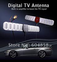 20dBi Car DVB-T Digital TV Plastic Blade SMA Plug Antenna Aerial w Amplifier /S1   10PCS
