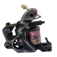 Wholesale - New Cast Iron Tattoo Machine Gun shader liner 10 Wraps Coils P1050982