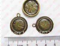 Tibetan Silver Pendant ,10PCS/LOT ,Free shipping .size:Dia 1.7cm .